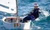 Beatriz Gago venceu todas as regatas em Faro e conseguiu a sua segunda vitória no apuramento para o Campeonato de Portugal (®PauloMarcelino)