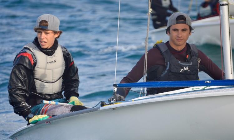 Afonso Rodrigues e Martim Sancho, dupla vencedora em 420 (®PauloMarcelino)