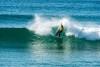 Manuel 'Necas' Mestre nunca tinha feito uma final nacional de surf 'shortboard'. É o novo vice-campeão nacional Kahuna, maiores de 45 anos (®ASCC)
