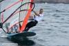Algarvio Miguel Martinho chegou a fazer 3º lugar numa das regatas do primeiro dia do mundial nos Açores (®EricBellande)