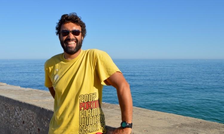Vasco Chaveca, presidente da Associação Portugal Formula Windsurfing (®PauloMarcelino/arquivo)