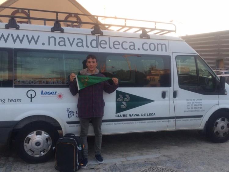 André Grandeiro mudou-se este ano do Ginásio Clube Naval de Faro para o Clube Naval de Leça (®CNL)