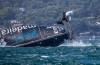 Catamará GC32 da equipa portuguesa Visit Madeira capotou na terceira regata em Sydney Harbour (Jesus Renedo/Lloyd Images)