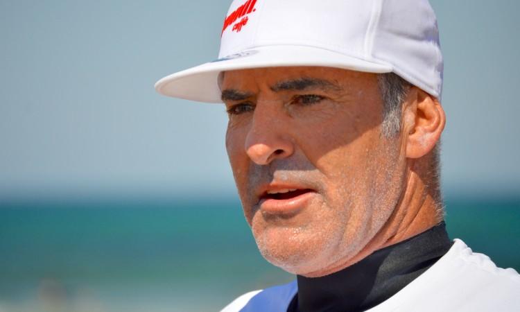 Garrett McNamara é o detentor do recorde mundial Guinness para a maior onda surfada, recorde estabelecido na Nazaré (®PauloMarcelino/arquivo)