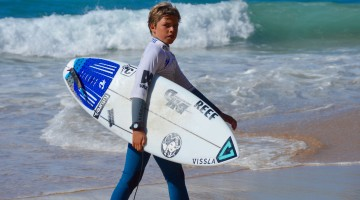 Martim Nunes é campeão Sub-12, Sub-14 e Sub-16 do SCS Wave Fest 2016 powered by SeventyOne Percent, circuito do Surf Clube de Sesimbra (®PauloMarcelino/arquivo)