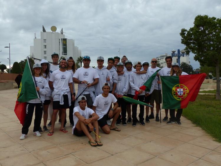 Seleção de Portugal já se estreou no Campeonato Europeu Júnior em Marrocos (®FPS)