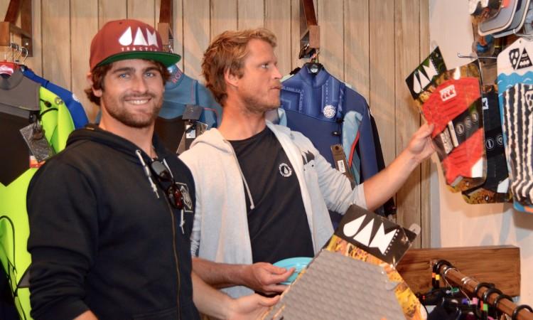 Gony Zubizarreta, à esquerda, e Marlon Lipke, os donos da Jam Traction (®PauloMarcelino)