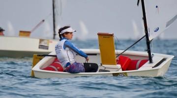 Beatriz Gago fez 6º lugar na geral e 1º Feminino, numa frota com alguns dos melhores do mundo (®SailImages)