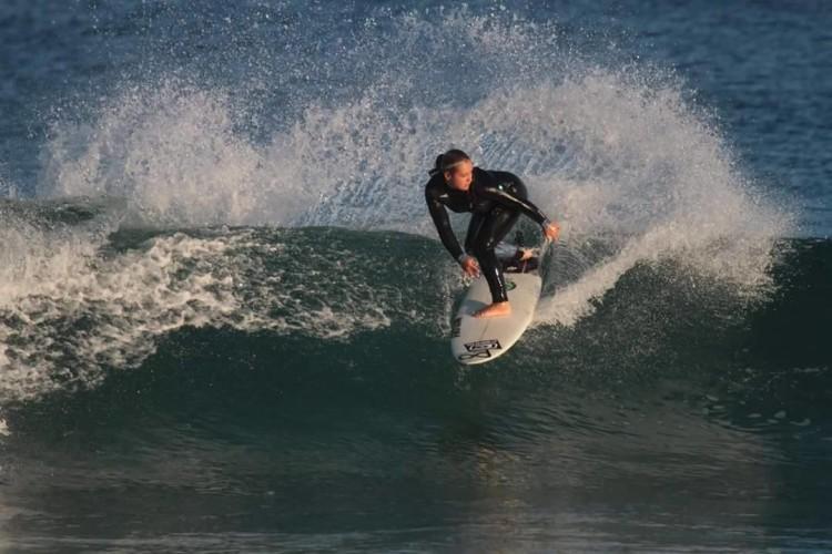 Surfista algarvia vai estar este ano concentrada nos QS na Europa e na Liga Moche (®DR)