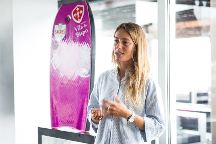 Joana Schenker, tricampeão nacional e europeia de bodyboard volta a ter apoio para ir ao Mundial (®DR)