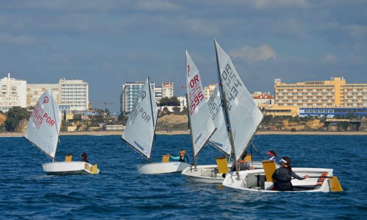 Optimist Juvenis algarvios integram alguns dos melhores da classe em Portugal. Primeira prova foi em Portimão, em dezembro, na imagem (®PauloMarcelino)