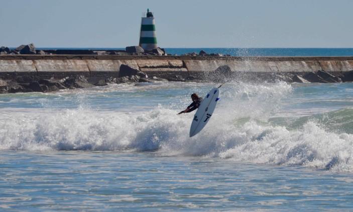 Praia da Rocha | 08-02-2017 | Marlon Lipke (®PauloMarcelino)