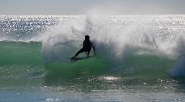 Algumas filmagens foram feitas na Praia da Rocha, tal como esta fotografia, captada na semana passada (®PauloMarcelino)