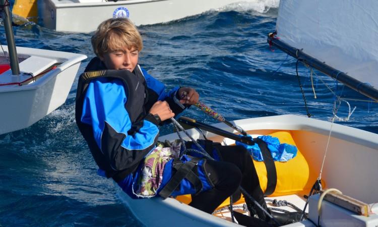 Vladislav Bedlinskyy está no grupo de cinco velejadores com vitórias em regatas de apuramento 2016/2017 (®PauloMarcelino/PARSulFaro)
