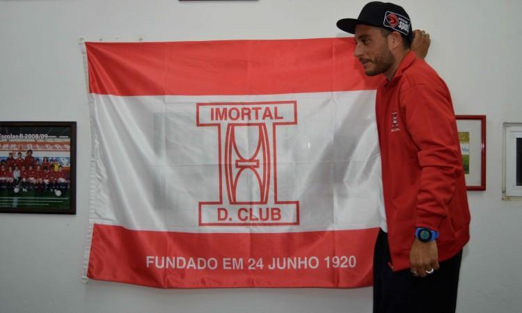 Filipe Costa considera que o Imortal tem as melhores condições para o novo projeto (®PauloMarcelino)