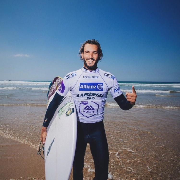 Frederico Morais entrou este ano para o Champiosnhip Tour e é aposta FPS para os Jogos Olímpicos (®DR)