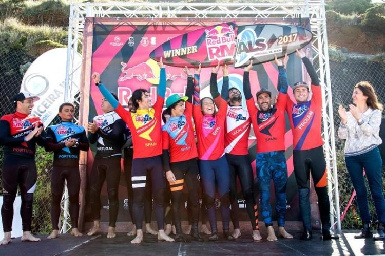 Equipa espanhola venceu a primeira edição ibérica do Red Bull Rivals (®HugoSilva/redbull.com)