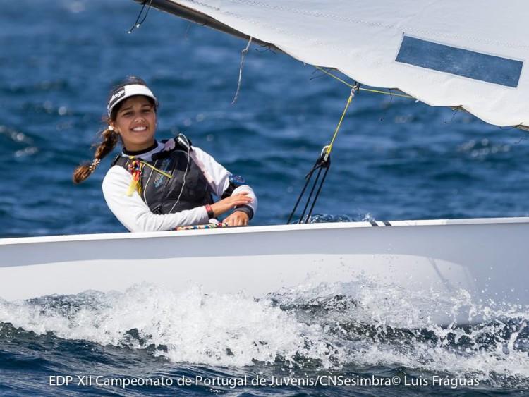 Beatriz Gago é líder Feminino desde o primeiro dia. Ontem desceu a 3ª na geral (®LuisFraguas/CNS)