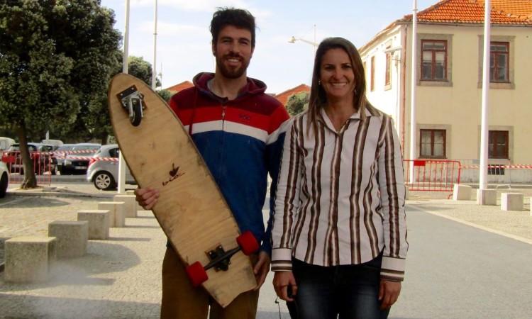 Ricardo Marques, da Bio Boards, com a investigadora Beatriz Minghelli (®DR)
