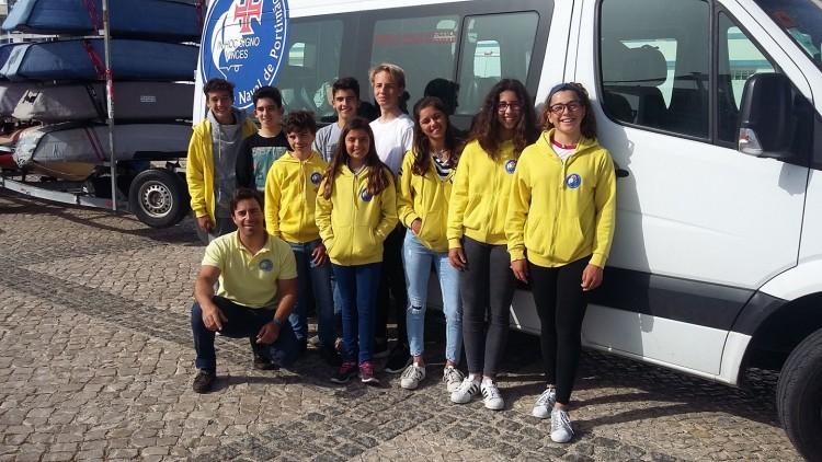 Naval de Portimão é o clube algarvio com mais atletas em prova (9). Comitiva viajou esta semana, com a campeã Juvenis Feminino em título, Beatriz Gago (®PatriciaSousa)
