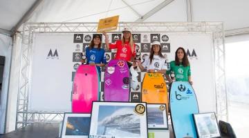 Algarvia Joana Schenker no 1º lugar do pódio Feminino da 1ª Etapa Nacional BB 2017 (®DR)