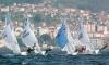 Dupla algarvia (POR 55289) conseguiu 7º lugar numa das regatas do primeiro dia do Campeonato de Espanha de 420 (®RCNV)