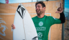Gony Zubizarreta feliz com a vitória na Costa de Caparica (®WSL/LaurentMasurel)