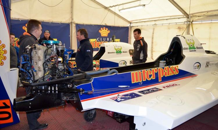 Monolugares da F1 Atlantic Team, do português Duarte Benavente, foram hoje inspecionados (®PauloMarcelino)