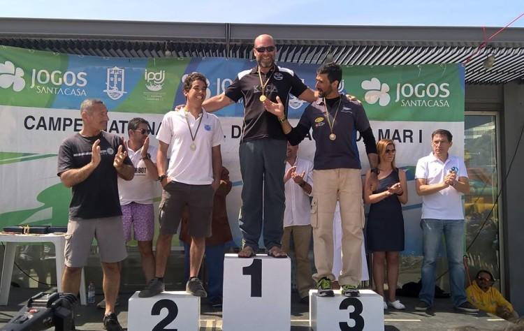 Nuno Silva, KCCA, no 1º lugar do pódio K1 Mar Absoluto (®KCCA)