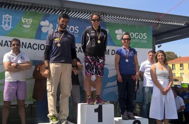 Ana Bebiano, KCCA, no 1º lugar do pódio SS1 Veterano A Feminino (®KCCA)
