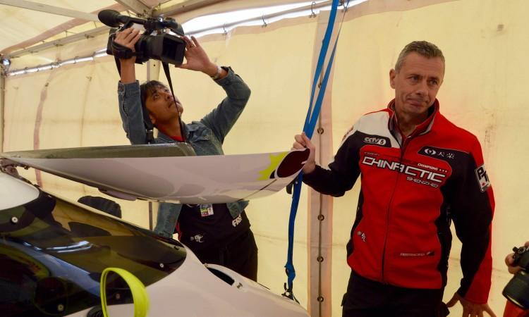 Philippe Chiappe, campeão do mundo e vencedor do grande prémio em Portimão o ano passado (®PauloMarcelino)