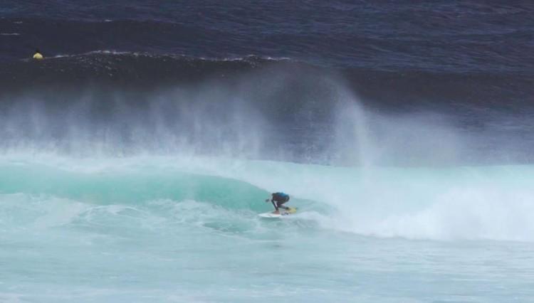 Momento do algarvio Martim Magalhães em ação na etapa do Regional dos Açores em São Miguel (®DR)