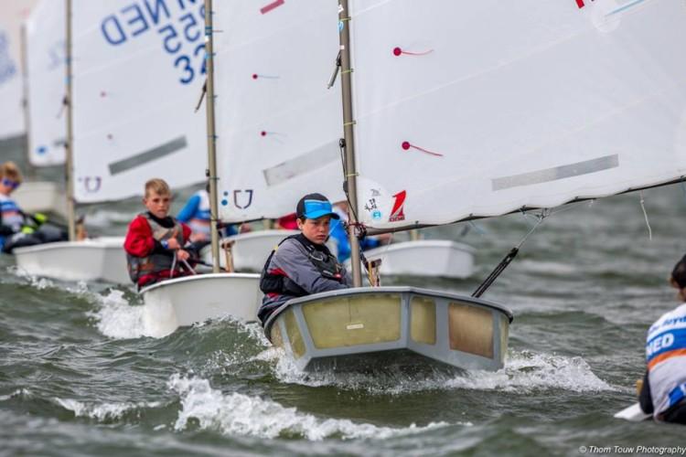 William Risselin na última regata, que terminou em 2º, na prova que fechou o apuramento, no passado fim-de-semana (®ThomTouwPhotography)