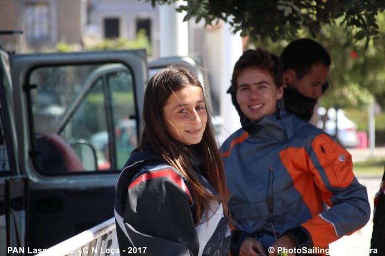 Daniela Miranda em Leixões, onde venceu a última PAN da Classe Laser na categoria 4.7 Feminino (®PhotoSailingRuiGuerra/CNL)