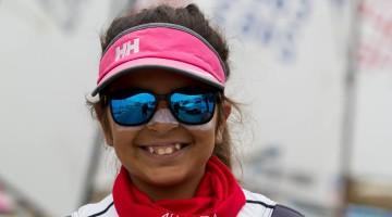 Algarvia Beatriz Cintra é 2ª após 2 regatas em Almada, 5ª no 'ranking' nacional após 11 regatas (®LuisFraguas/CNA)