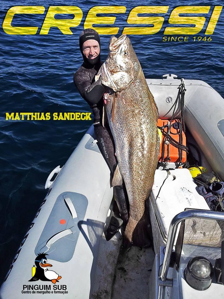 A maior captura realizada por Matthias Sandeck foi capa de revista (®DR)