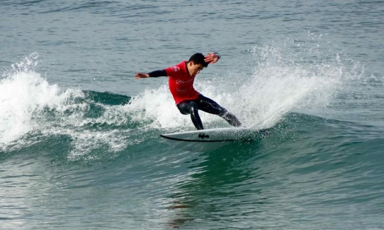 Bruno Gregório venceu tudo até à final Surf Juvenis Masculinos, tendo terminado em 3º (®DR)