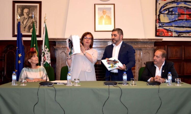 Entrega do inquérito que formaliza a candidatura de Portimão a Cidade Europeia do Desporto 2019 (®PauloMarcelino)