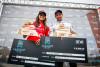 Teresa Bonvalot e Vasco Ribeiro, vencedores da 2ª Etapa Liga MEO Surf 2017 (®PedroMestre/ANS)