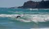 Martim Brandão num momento de surf livre, na Arrifana, durante a etapa do circuito regional no início de maio (®PauloMarcelino/arquivo)