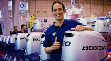 Algarvio Jody Lot é este ano atleta da equipa Honda Marine - Grow e está empenhado em conquistar a Taça de Portugal de Pesca Submarina (®DR)