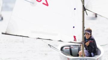 Guilherme Cavaco é Campeão de Portugal e vencedor do 'Ranking' Nacional Optimist. Algarvio vai representar Portugal no Mundial da Classe pelo segundo ano consecutivo (®LuisFraguas/CNA)