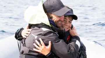 Treinador Nuno Silva e velejador Guilherme Cavaco encerram época de ouro com mais uma vitória (®DR)