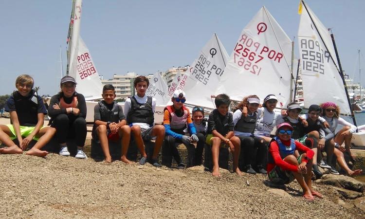 Espírito de equipa é o principal objetivo do estágio em Vilamoura (®DR)