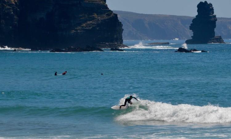 Sebastião Passarinho, 4º melhor Sub-18 no Circuito Regional de Surf do Sul 2017 (®PauloMarcelino/arquivo)