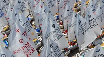 Prova em Optimist vai ser disputada por velejadores dos 7 aos 11 anos de idade (®PauloMarcelino/arquivo)