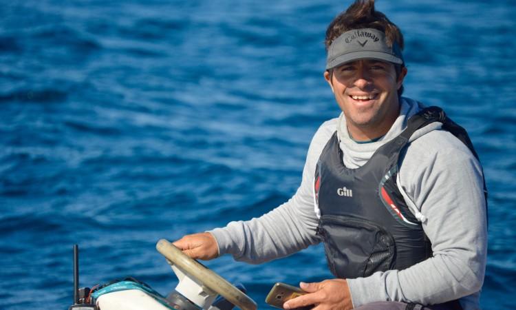 Frederico Rato tem 38 anos e 12 presenças de atletas treinados por si em Mundiais de Optimist. Vai estar na Tailândia como 'team leader' da Seleção (®PauloMarcelino/arquivo)