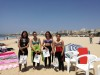 Finalistas Feminino, Encontro 'Espumas' do Algarve de Surf & Bodyboard do Desporto Escolar 2016/2017 (®DR)