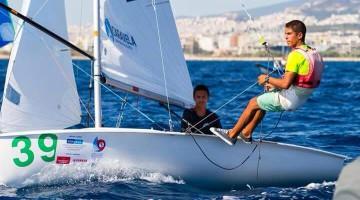 Manuel Fortunato & Frederico Baptista em ação na Grécia. Algarvios foram 19º entre 45 tripulações Sub-17 (®DR)