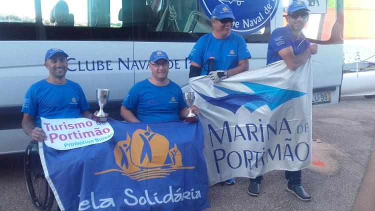 Equipa Iate Clube Marina de Portimão - Vela Solidária no Campeonato Nacional Hansa 2017, em Cascais (®DR)